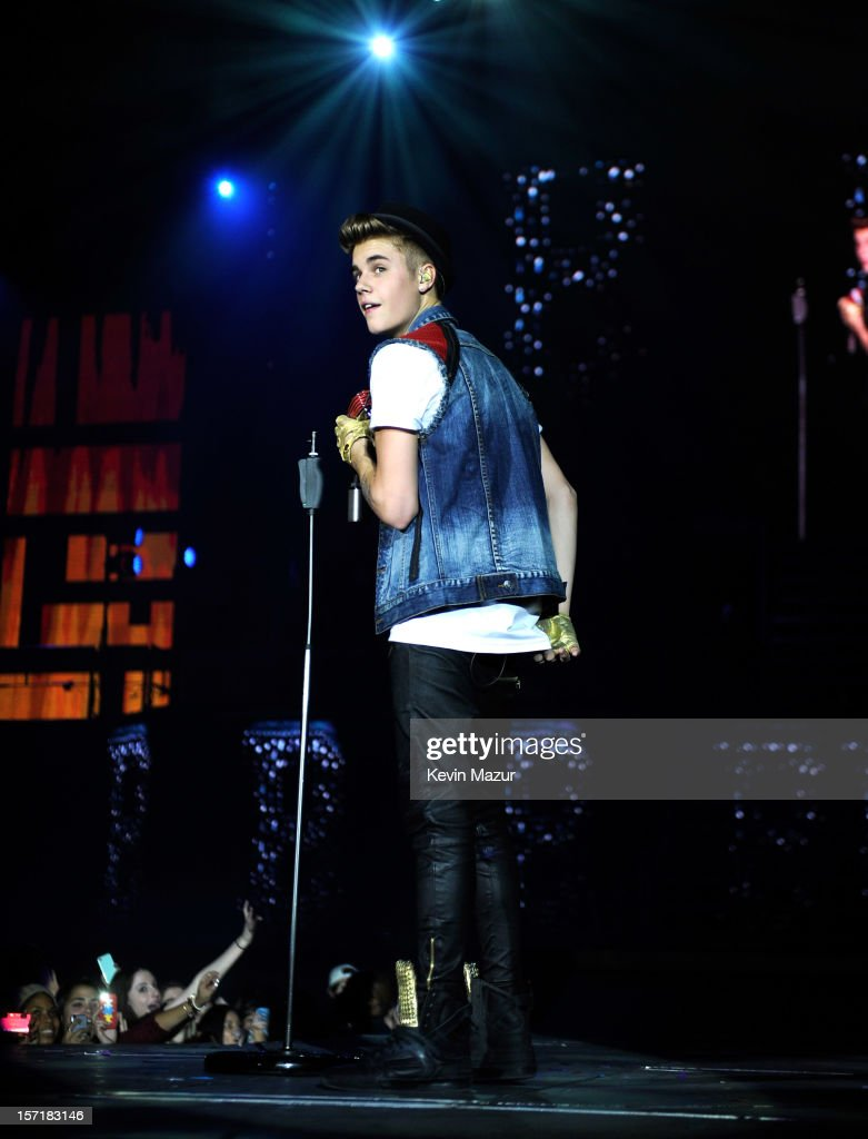 Justin Bieber In Concert New York Ny Getty Images