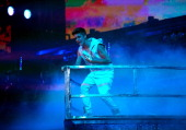 Justin Bieber performs at Target Center on October 20 2012 in Minneapolis Minnesota