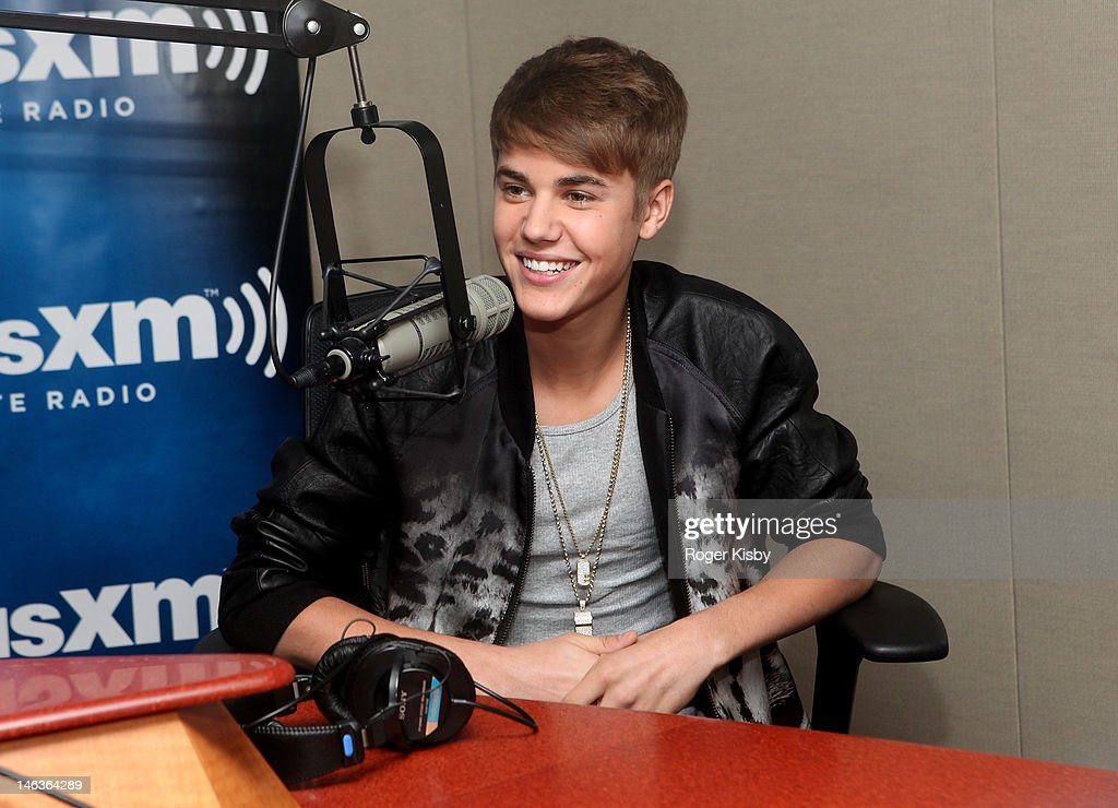 <a gi-track='captionPersonalityLinkClicked' href=/galleries/search?phrase=Justin+Bieber&family=editorial&specificpeople=5780923 ng-click='$event.stopPropagation()'>Justin Bieber</a> premieres his new album, 'Believe,' on SiriusXM Hits 1 in the SiriusXM Studio on June 14, 2012 in New York City.