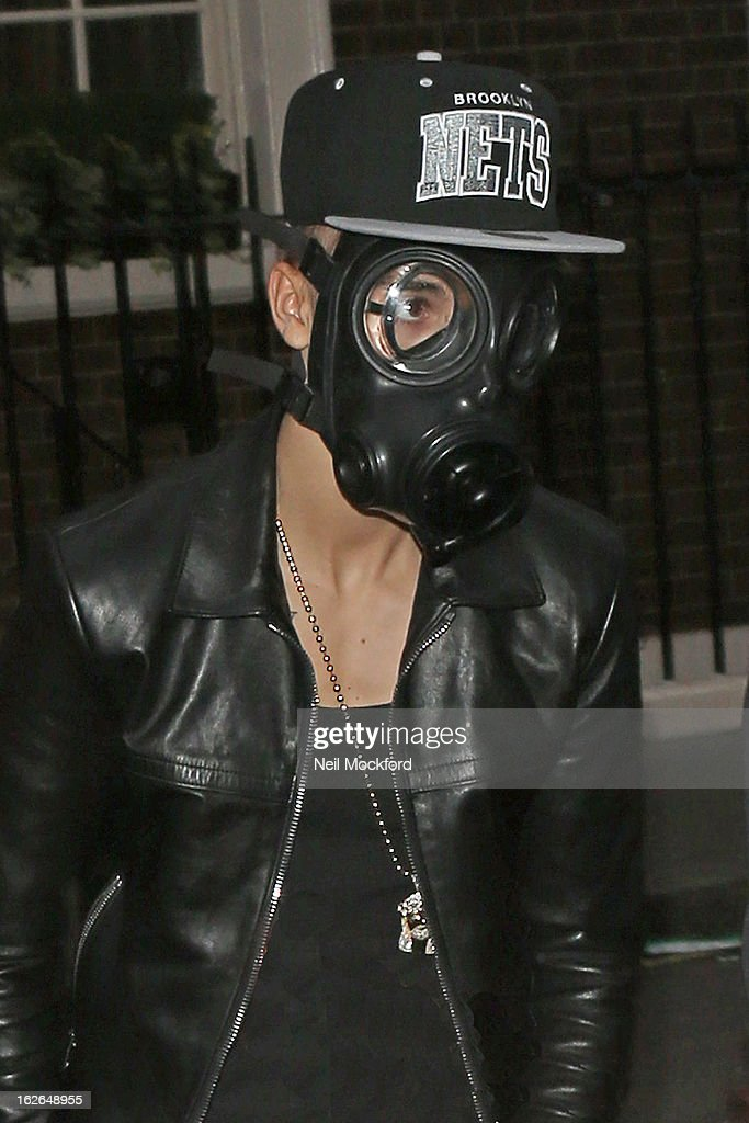 Justin Bieber seen shopping at ACNE on Dover St on February 25, 2013 in London, England.
