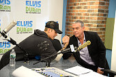Justin Bieber visits 'The Elvis Duran Z100 Morning Show' at Z100 Studio on August 24 2015 in New York City