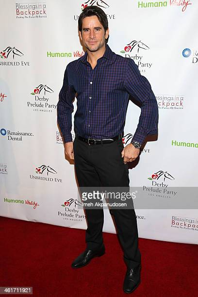Justin Bird attends the 5th Annual Los Angeles Unbridled Eve Derby Prelude Party at The London West Hollywood on January 9 2014 in West Hollywood...