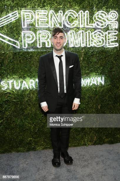 Justin Blau attends the Pencils of Promise Annual Gala 2017 in Central Park on December 7 2017 in New York City