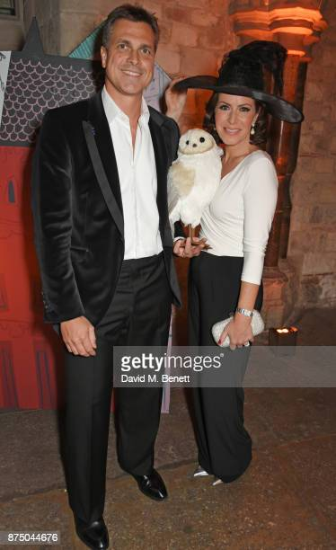 Justin Bower and Natasha Kaplinsky attend Save The Children's Magical Winter Gala celebrating the 20th anniversary since the publication of the first...