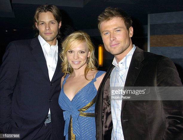 Justin Bruening Alexa Havins and Jacob Young during All My Childrens 35th Anniversary Celebration benefitting Broadway Cares Equity Fights Aids at...