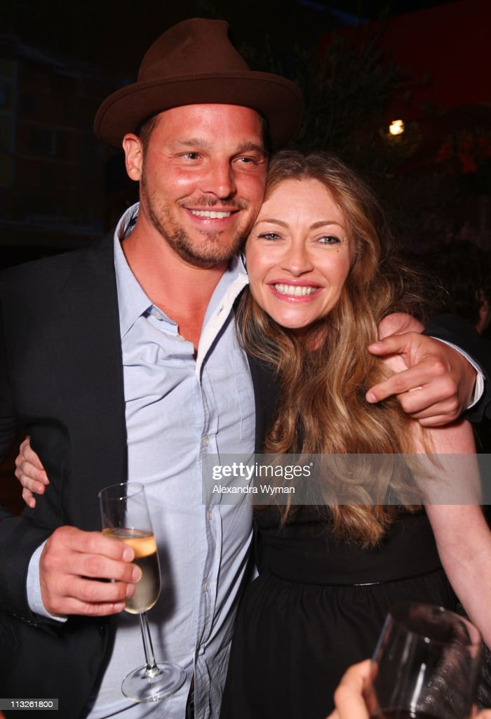 Justin Chambers and Rebecca Gayheart at IWC Schaffhausen 'Peter Lindbergh's Portofino' held at Culver Studios on April 28 2011 in Culver City...
