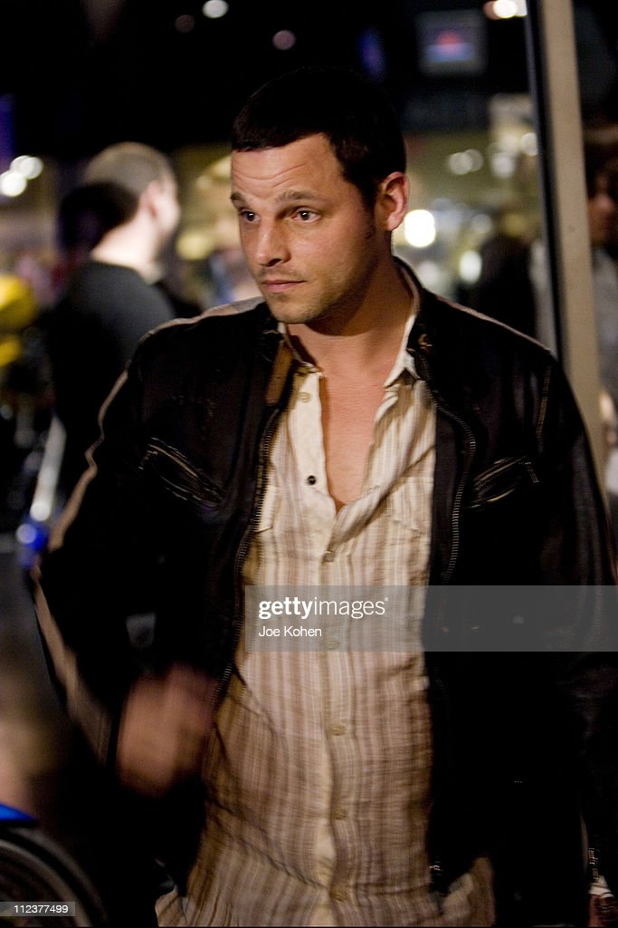 Justin Chambers during CEO Mark Kennedy and 'Grey's Anatomy' Star Justin Chambers Host the Grand Opening of Triumph NYC at Triumph NYC in New York...