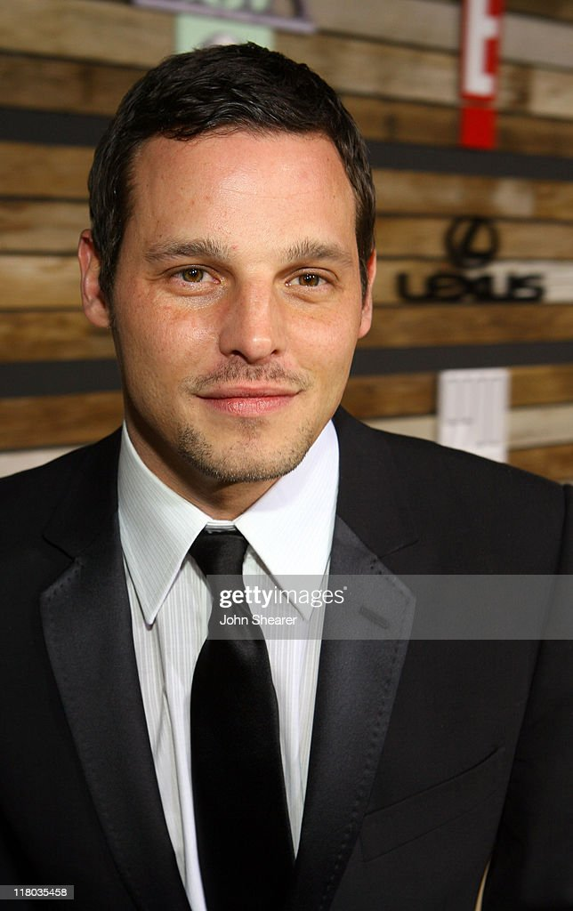 Justin Chambers during E! and EMA's 2007 Golden Globe After Party - Red Carpet and Inside at Beverly Hilton in Beverly Hills, California, United States.