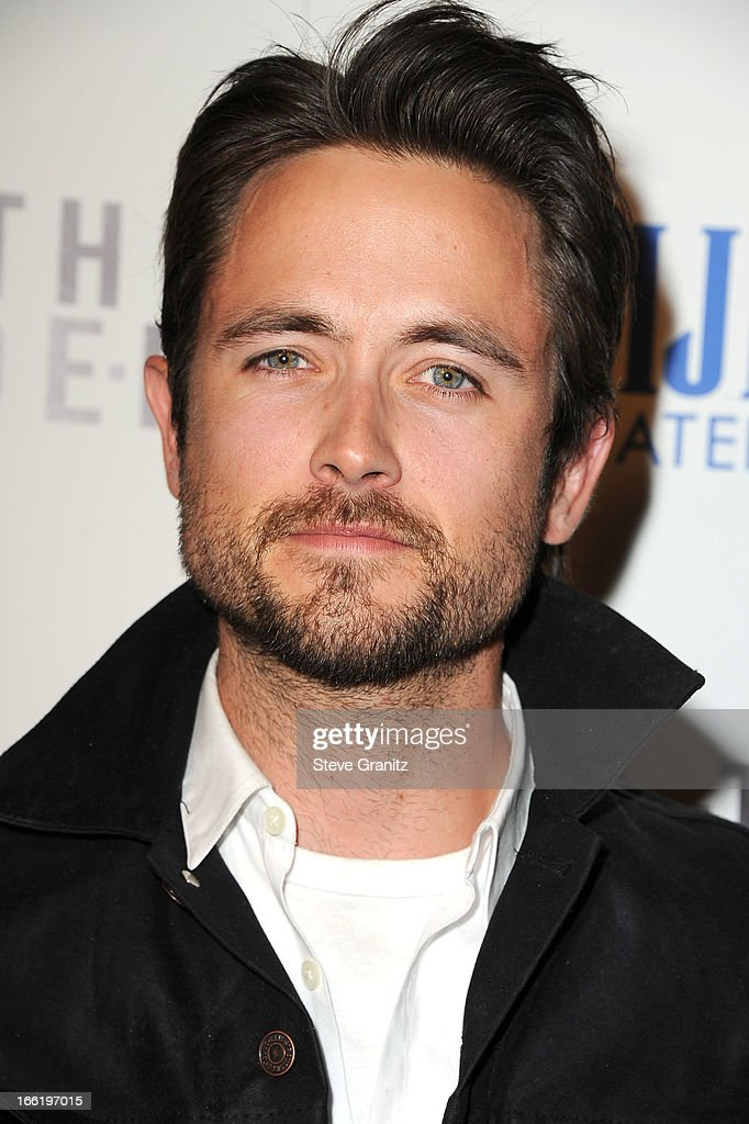 <a gi-track='captionPersonalityLinkClicked' href=/galleries/search?phrase=Justin+Chatwin&family=editorial&specificpeople=560431 ng-click='$event.stopPropagation()'>Justin Chatwin</a> arrives at the 'To The Wonder' Los Angeles premiere at Pacific Design Center on April 9, 2013 in West Hollywood, California.