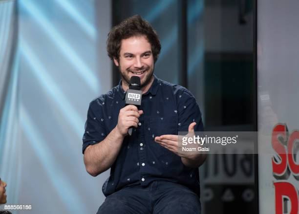 Justin Collette visits Build Series to discuss the 2nd anniversary of 'School Of Rock' at Build Studio on December 8 2017 in New York City