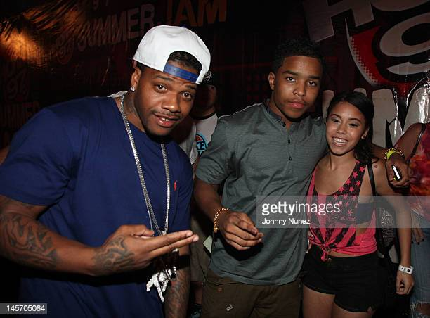 Justin Combs and guests attend HOT 97's Summer Jam 2012at MetLife Stadium on June 3 2012 in East Rutherford New Jersey