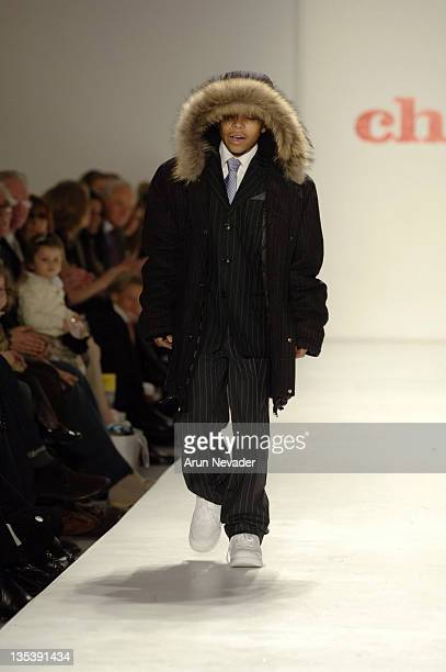 Justin Combs at Child Magazine Fall 2007 during MercedesBenz Fashion Week Fall 2007 Child Magazine Runway at The Salon Bryant Park in New York City...