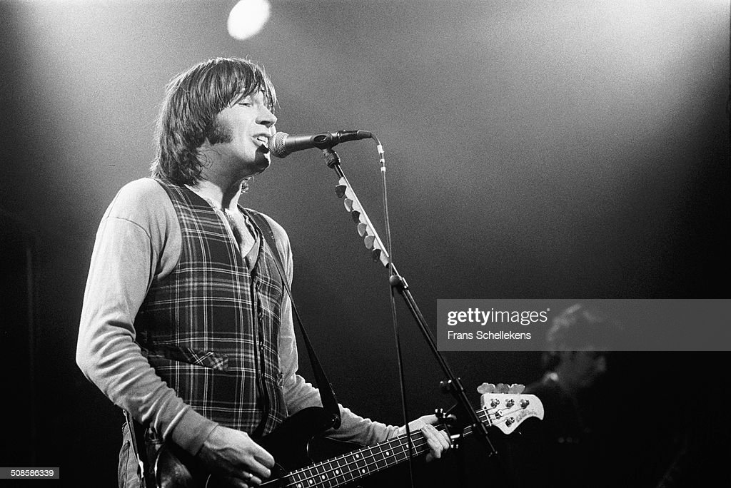 Justin Currie, vocal-guitar, performs with Del Amitri at the Melkweg on 20st September 1992 in Amsterdam, Netherlands.