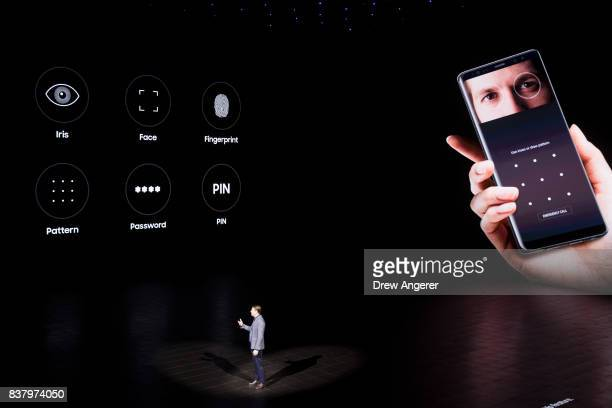 Justin Denison Senior Vice President of Product Strategy at Samsung speaks about the security features on the new Samsung Galaxy Note8 smartphone...