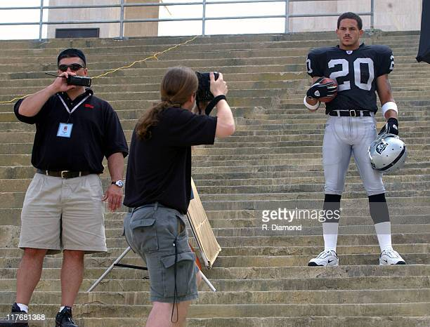 Justin Fargas Raiders during Reebok NFL Players Rookie Premiere Presented by 989 Sports at LA Coliseum in Los Angeles California United States