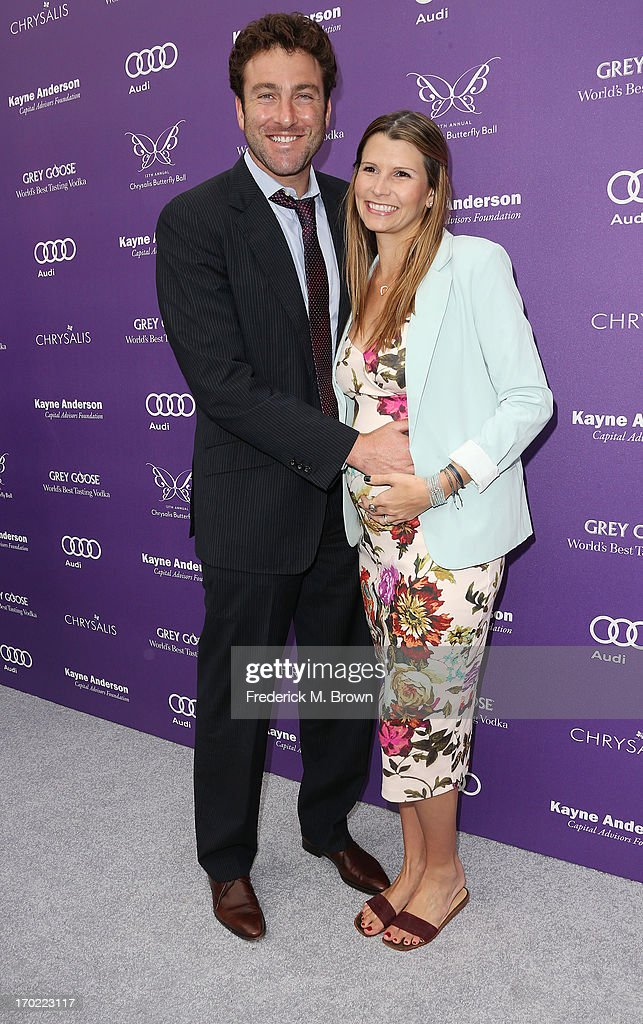 Justin Gimeslob (L) and Cary Kendall Sinnott attend the 12th Annual Chrysalis Butterfly Ball on June 8, 2013 in Los Angeles, California.