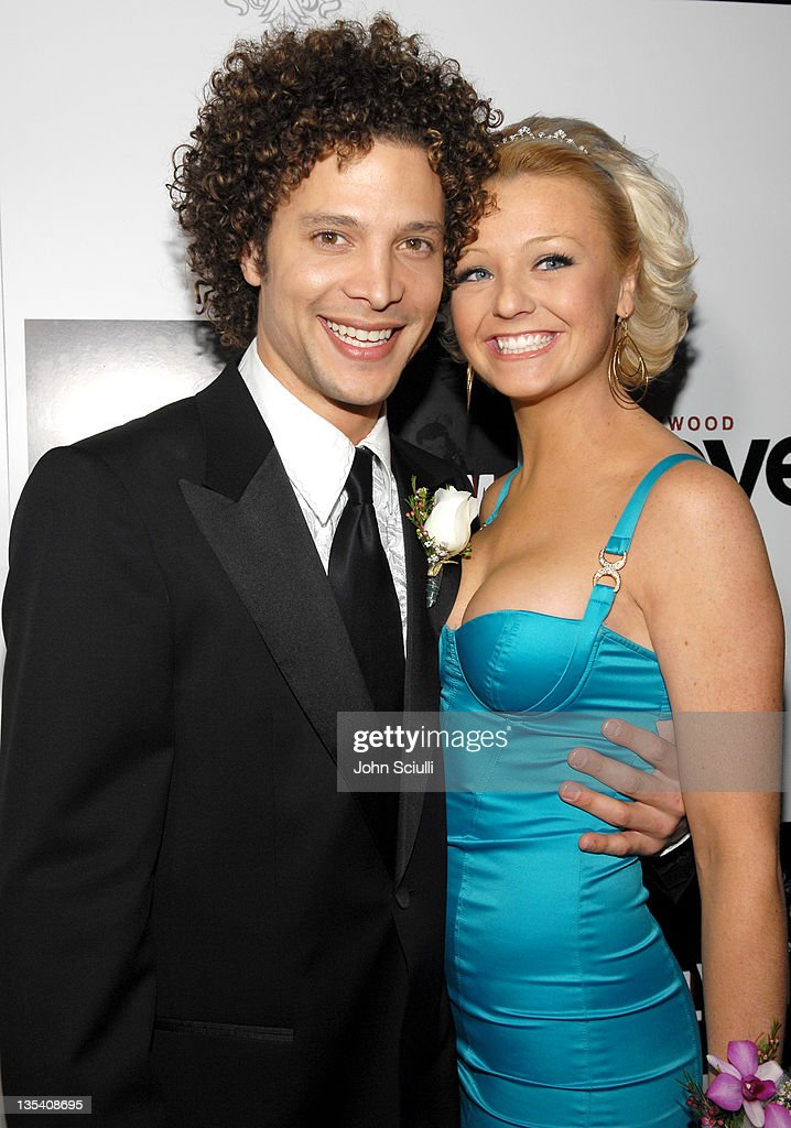 Justin Guarini and Holly Durst during Hollywood Prom 2007 Presented by The Crue and Hollywood Covered Magazine Red Carpet at Boulevard3 in Hollywood...