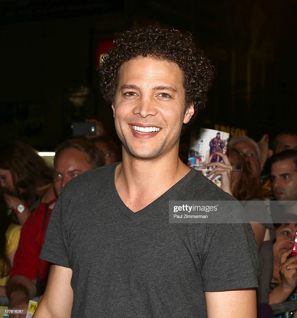 <a gi-track='captionPersonalityLinkClicked' href=/galleries/search?phrase=Justin+Guarini&family=editorial&specificpeople=617234 ng-click='$event.stopPropagation()'>Justin Guarini</a> attends the 'Romeo And Juliet' On Broadway First Performance at the Richard Rodgers Theatre on August 24, 2013 in New York City.