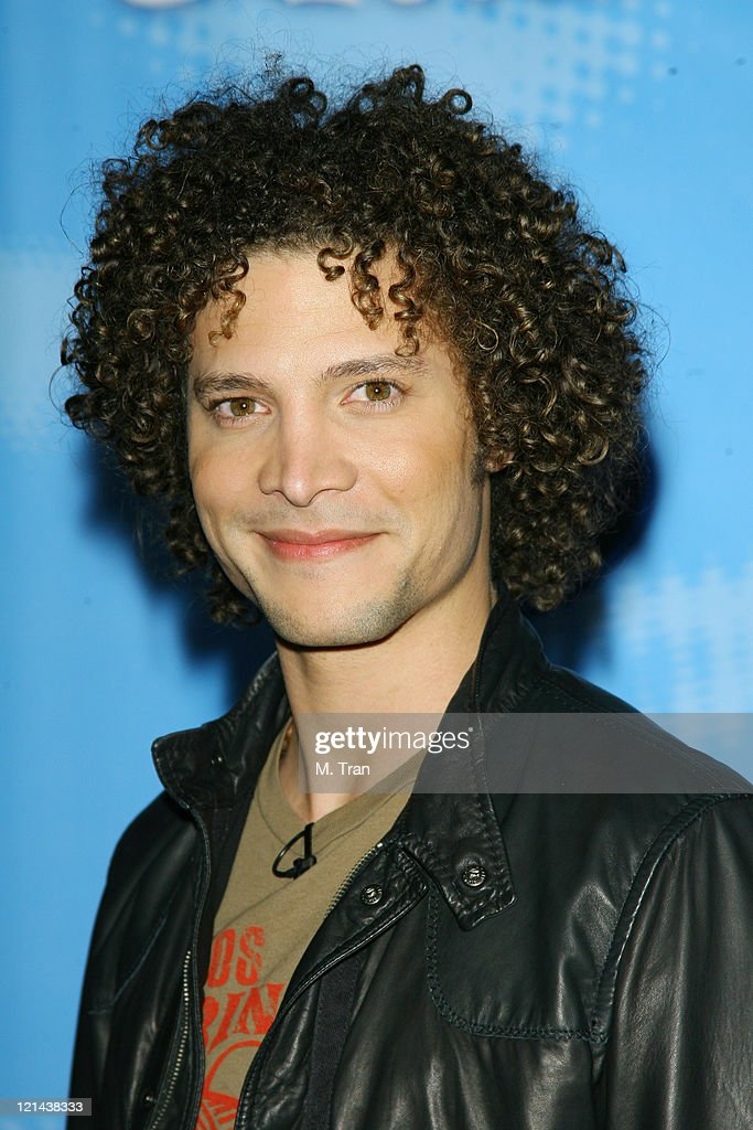 Justin Guarini during American Idol Celebrates the Top 12 Contestants at Astra West Pacific Design Center in West Hollywood California United States