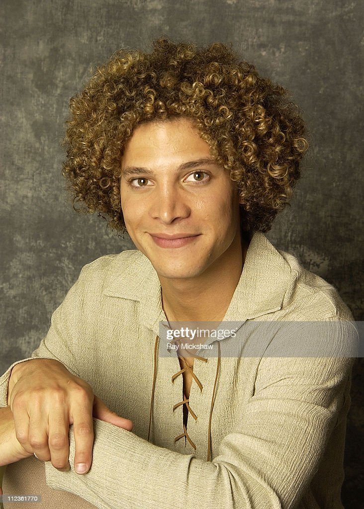 Justin Guarini during 'American Idol' Season 1 Finalists Portraits at The Ritz Carlton Hotel in Pasadena California United States
