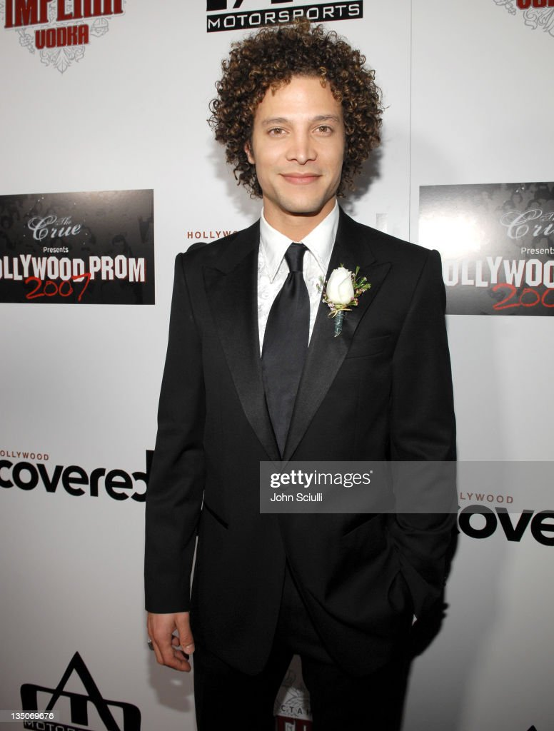 Justin Guarini during Hollywood Prom 2007 Presented by The Crue and Hollywood Covered Magazine Red Carpet at Boulevard3 in Hollywood California...