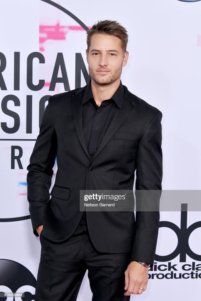 Justin Hartley attends the 2017 American Music Awards at Microsoft Theater on November 19, 2017 in Los Angeles, California.
