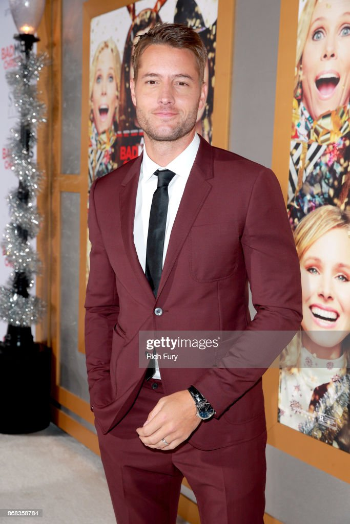 Justin Hartley attends the premiere of STX Entertainment's 'A Bad Moms Christmas' at Regency Village Theatre on October 30, 2017 in Westwood, California.