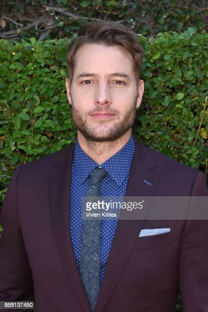 Justin Hartley attends The Rape Foundation's Annual Brunch on October 8 2017 in Beverly Hills California