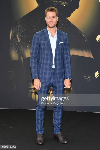Justin Hartley from 'This is us' TV Show poses for a Photocall during the 57th Monte Carlo TV Festival Day Two on June 17 2017 in MonteCarlo Monaco