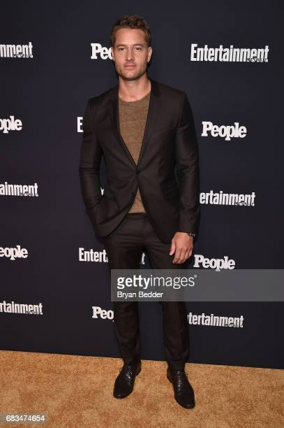 Justin Hartley of This Is Us attends the Entertainment Weekly and PEOPLE Upfronts party presented by Netflix and Terra Chips at Second Floor on May...