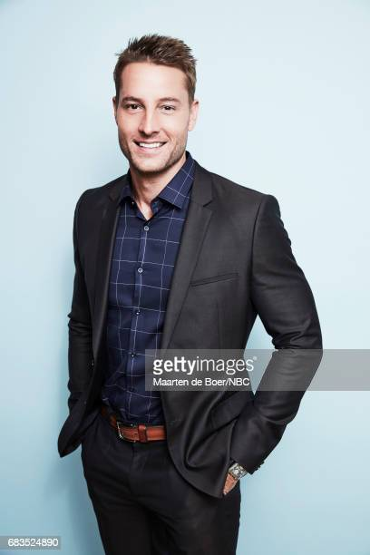 Justin Hartley of 'This is Us' poses for a photo during NBCUniversal Upfront Events Season 2017 Portraits Session at Ritz Carlton Hotel on May 15...