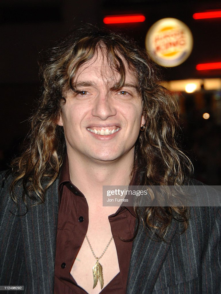 <a gi-track='captionPersonalityLinkClicked' href=/galleries/search?phrase=Justin+Hawkins&family=editorial&specificpeople=171558 ng-click='$event.stopPropagation()'>Justin Hawkins</a> during 'Tenacious D in the Pick of Destiny' World Premiere - Foyer at Vue West End in London, Great Britain.