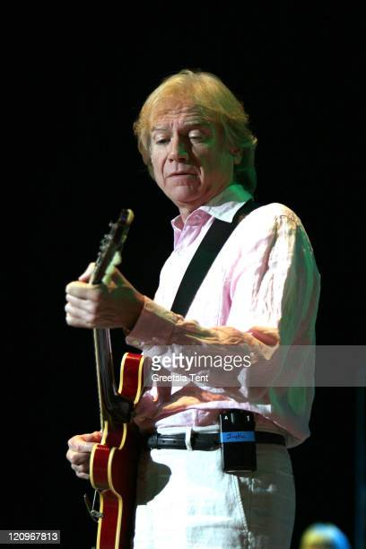 Justin Hayward during The Moody Blues in Concert at the Heineken Music Hall in Amsterdam October 18 2006 at Heineken Music Hall in Amsterdam...