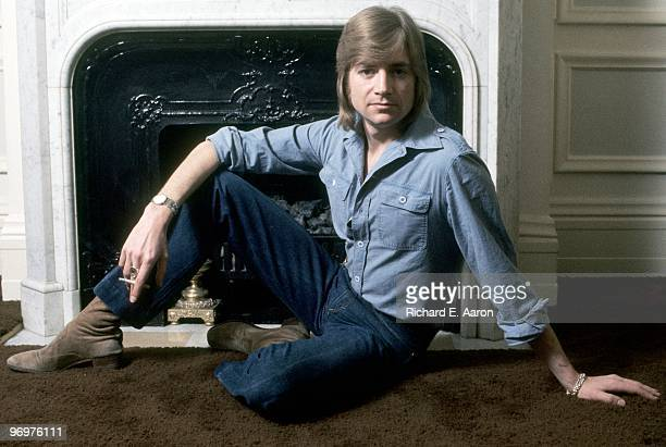 Justin Hayward from The Moody Blues posed in Los Angeles in 1984