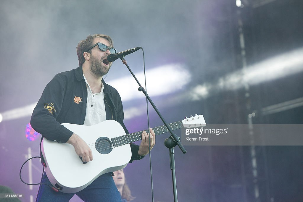 Justin HaywardYoung of The Vaccines performs at Longitude Festival on July 17 2015 in Dublin Ireland