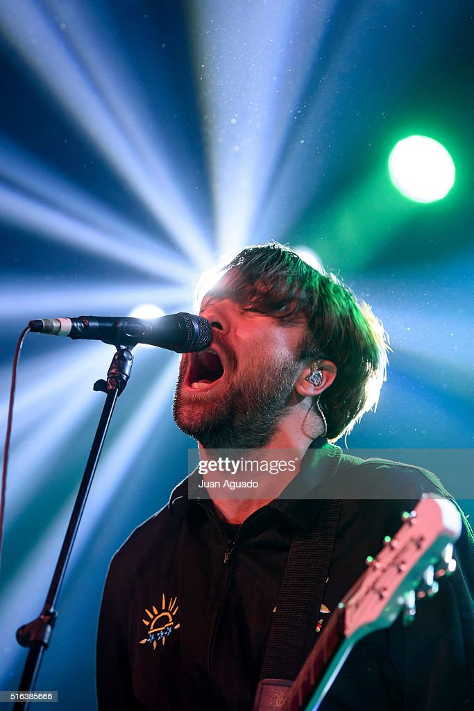 Justin HaywardYoung of The Vaccines performs on stage at Sala La Riviera on March 18 2016 in Madrid Spain