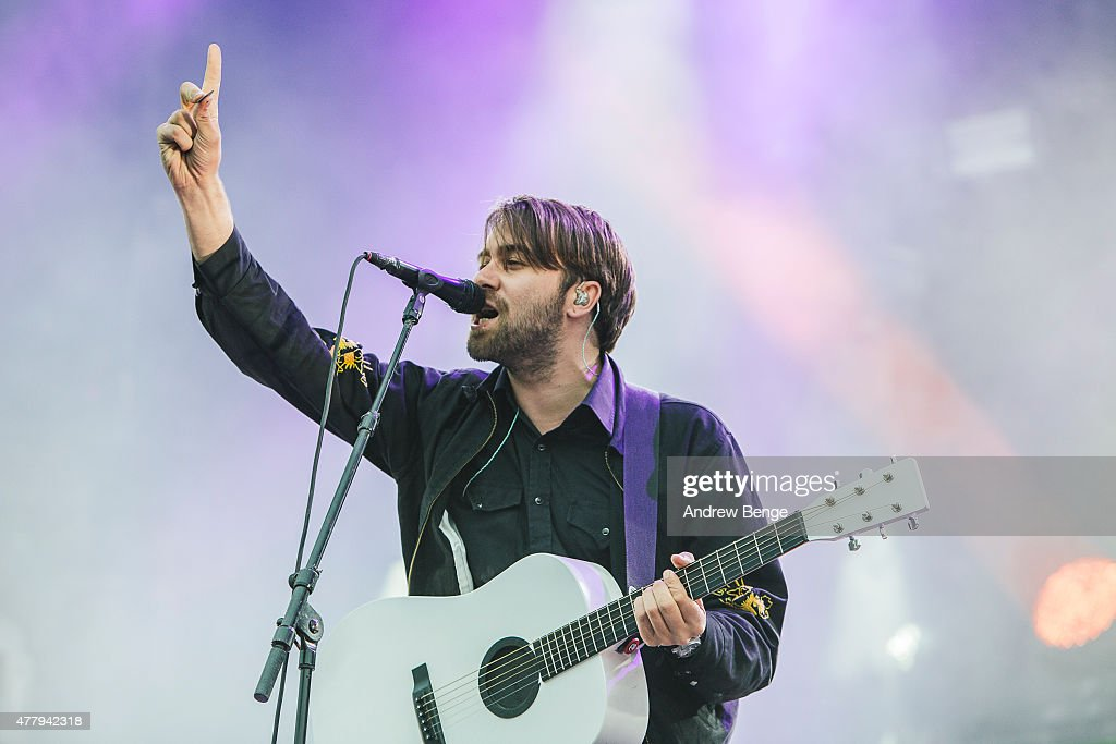 Justin HaywardYoung of The Vaccines performs on the main stage for Best Kept Secret Festival at Beekse Bergen on June 20 2015 in Hilvarenbeek...