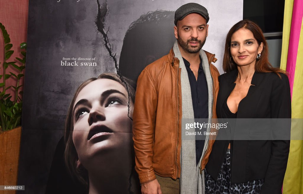 Justin Horne and Yasmin Mills attend a screening of 'mother!' hosted by Collette Cooper and Paramount Pictures in collaboration with Edible Cinema at The Soho Hotel on September 13, 2017 in London, England.