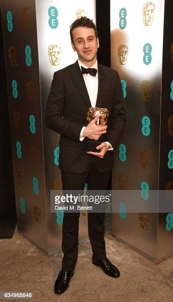 Justin Hurwitz attends the official After Party Dinner for the EE British Academy Film Awards at Grosvenor House on February 12 2017 in London England