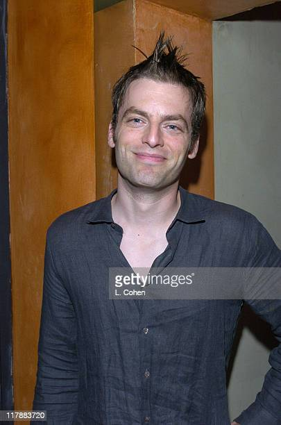 Justin Kirk during GQ Lounge Los Angeles Celebrates The Art of Elysium at Forbidden City in Hollywood California United States