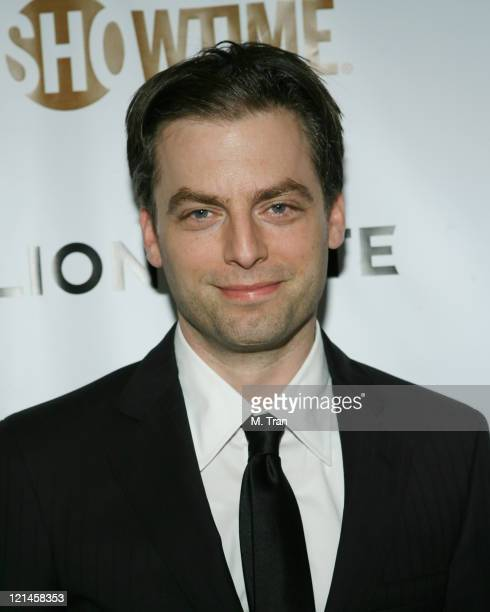 Justin Kirk during Showtime and Lionsgate PreGolden Globe Celebration at The Sunset Tower Hotel in West Hollywood California United States