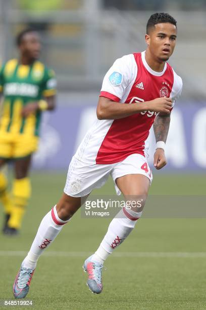 Justin Kluivert of Ajax during the Dutch Eredivisie match between ADO Den Haag and Ajax Amsterdam at Car Jeans stadium on September 17 2017 in The...