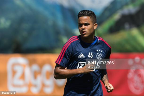Justin Kluivert of Ajaxduring the preseason summer training camp of Ajax Amsterdam at Lindenstadion on July 05 2017 in Hippach Austria