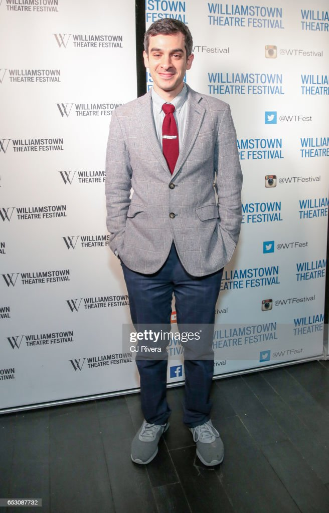 Justin Levine attends 2017 Williamstown Theatre Festival Gala at TAO Downtown on March 13, 2017 in New York City.