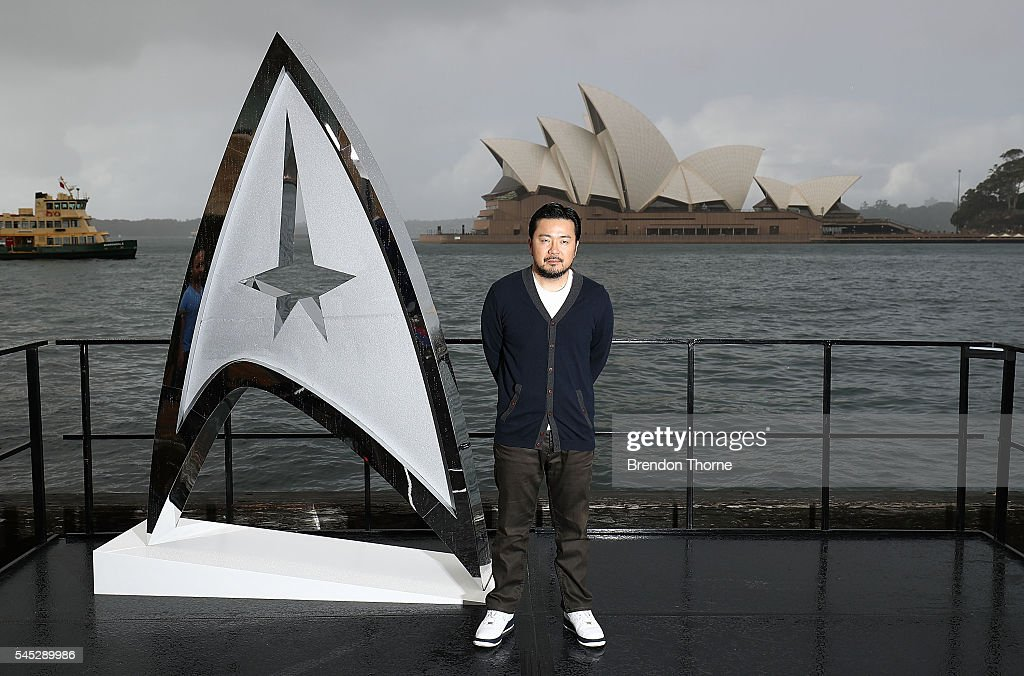 Justin Lin poses during a photo call for Star Trek Beyond on July 7, 2016 in Sydney, Australia.