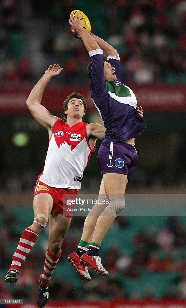 AFL Rd 13 - Sydney v Fremantle