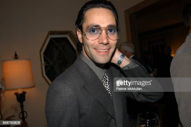 Justin Murdock attends Kathy and Rick Hilton's party for Donald Trump and 'The Apprentice' at the Hiltons' Home on February 28 2004 in Holmby Hills...