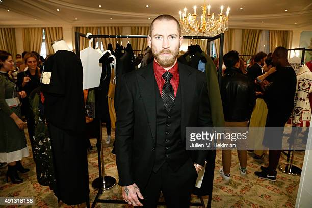 Justin O'Shea attends Buro 24/7 Family Presentation of 9 Fashion Designers from Russia Ukraine and Kazakhstan at Hotel Bristol on October 4 2015 in...