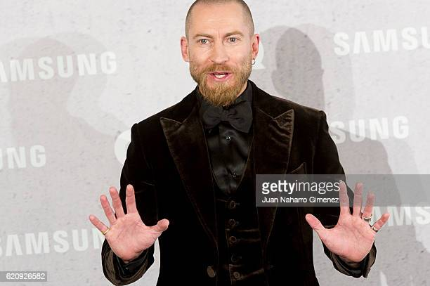 Justin O'Shea attends 'GQ Men Of The Year Awards 2016' photocall at Palace Hotel on November 3 2016 in Madrid Spain