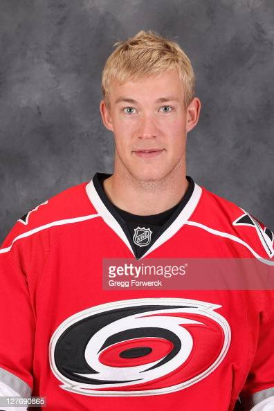 Justin Peters of the Carolina Hurricanes poses for his official headshot for the 20112012 season on September 16 2011 in Raleigh North Carolina
